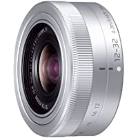 Panasonic Micro Four Thirds interchangeable lens LUMIX G VARIO 12-32mm / F3.5-5.6 ASPH. / MEGA OIS H-FS12032 Silver - International Version (No Warranty)