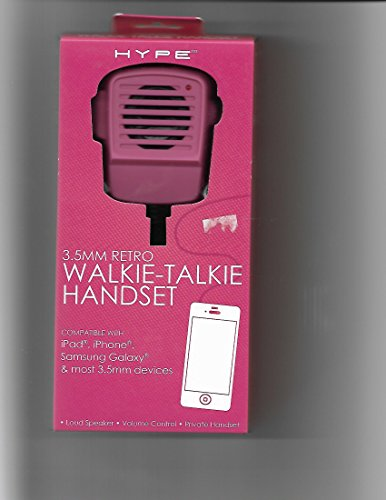 kie-Talkie Handset Compatible with iPad, iPhone, Samsung Galaxy and most 3.5mm Devices (2013) ()