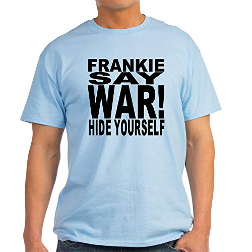 Frankie Say War Hide Yourself Light T Shirt, 5 Colours, S to 3XL