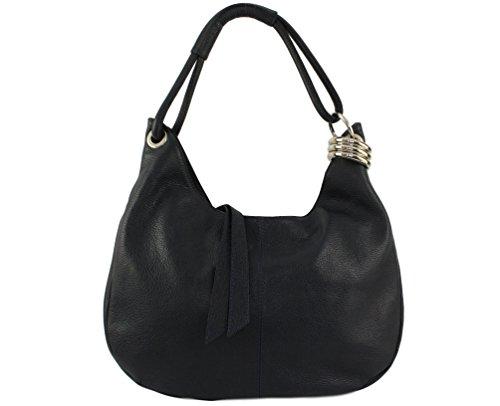 Noir femme Plusieurs cuir natalia à femme sac cuir sac natalia Sac cuir natalia main cuir Sac Natalia sac Coloris femme Italie RUXqw