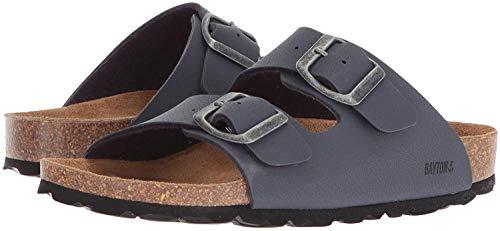Bayton Girls' Atlas Sandal Grey 29 Medium EU Little Kid (11 US) from Bayton