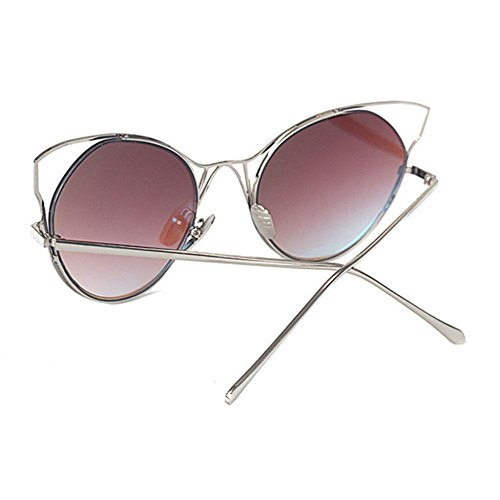 Aoligei Europe et sourcils masculin lunettes de soleil rétro aux États-Unis des lunettes lunettes de soleil petit cadre oeil de chat kLPYz