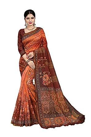 Amazon.com: itsindiancrafty Designer Sarees Digital Print
