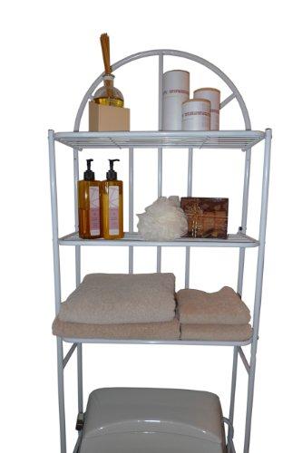 ATHome Contemporary Bath Space Savers, White (White Space Saver compare prices)