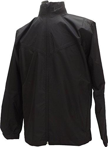 NEW Mens Nike Storm-Fit Packable Rain/Wind Jacket Waterproof Black Size XX-Large