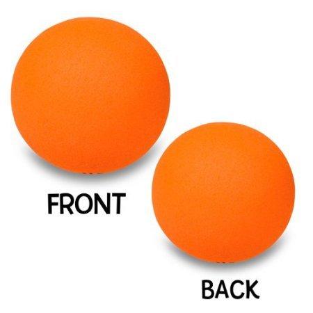 Quantity 3 pcs pack - Coolballs Plain Orange Car Antenna Ball / Car Antenna Topper / Static Wick Cover Protector Balls (Car Plain)