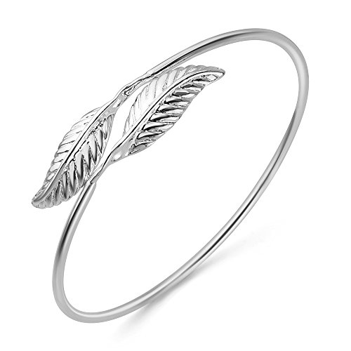 Sterling Silver Beautiful Leaves Bracelet product image