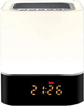 ZZRH, Color, LED, Touch, parlantes de Tarjeta, Regalos, Relojes, Luces nocturnas, parlantes estéreo Bluetooth, teléfonos con conexión inalámbrica, tabletas, computadoras portátiles, etc.: Amazon.es: Electrónica