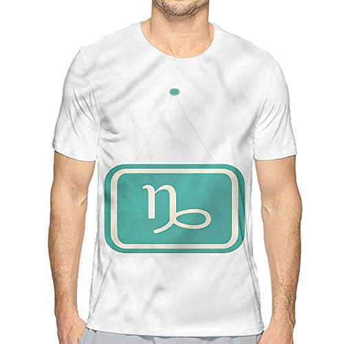 t Shirt Printer Zodiac Capricorn,Bicolor Sign Junior t Shirt XL