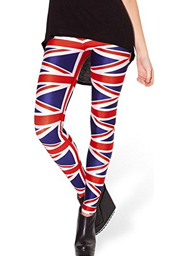 union jack leggings - 3