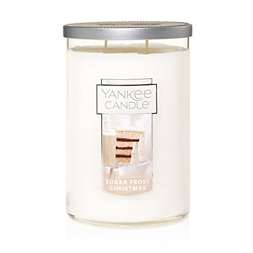 Yankee Candle Large 2-Wick Tumbler Scented Candle, Sugar Frost Christmas