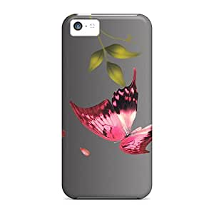 Summer Flys By Case Compatible With Iphone 5c/ Hot Protection Case
