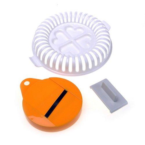 BestDealUSA Plastic DIY Potato Chip Maker Vegtable Slicer Crisp Microwave New