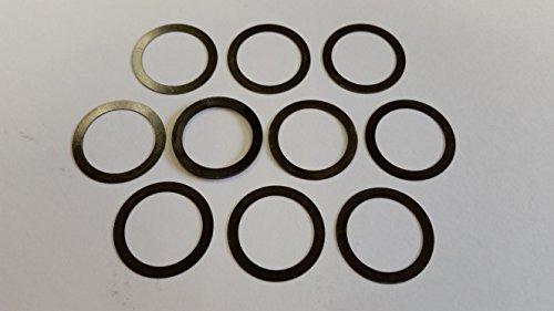 Products Shim (5/8 x 24 Barrel Shim Muzzle Brake Alignment Shim Kit .308 7.62 indexing Black)