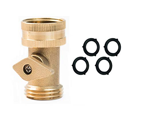 (HQMPC Water Hose Turn Off Valve 3/4