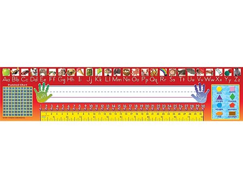 Teacher Created Resources Traditional Printing Jumbo Name Plates (4311)