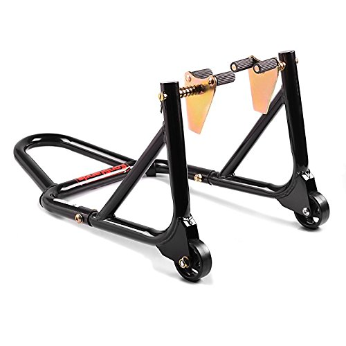 Motorcycle paddock stand ConStands Front black for Ducati 1098, 1198, 1199 Panigale, 748, 749, 848/ Evo, 888, 916, 996, 998, 999, GT 1000