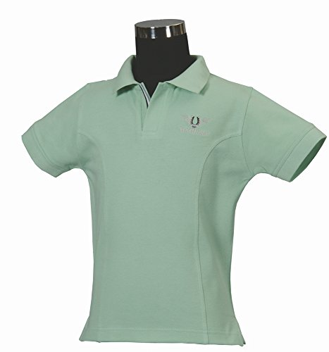 TuffRider Girl's Polo Shirt, Mis...