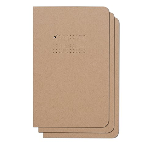 Northbooks Notebook / Journal (3 Pack), 96 Dot Grid Pages, Acid Free Sheets, 5x8 | Made in USA 8 Notebook