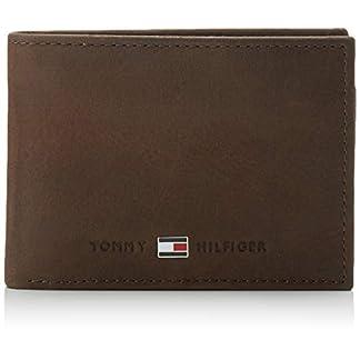Tommy Hilfiger Herren Johnson Mini CC Flap and Coin Pocket Geldbörsen, Braun (Brown 041), 11x7x3 cm 9