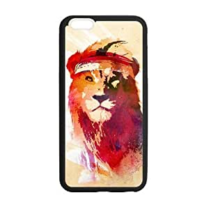 Hellocase Durable Protective Hard TPU Rubber Fitted Cover Case for iphone 4s inch, Cool Wild Lion