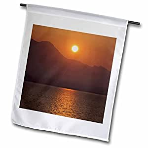 3dRose fl_82092_1 Garden Flag, 12 by 18-Inch, Italy, Ligurian Sea, Cinque Terre, Sunrise-EU16 CMI0221-Cindy Miller Hopkins