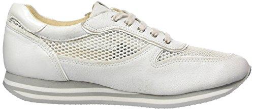 Zapatillas 23605 944 Mujer Wht Comb Blanco Met para Caprice URwqR