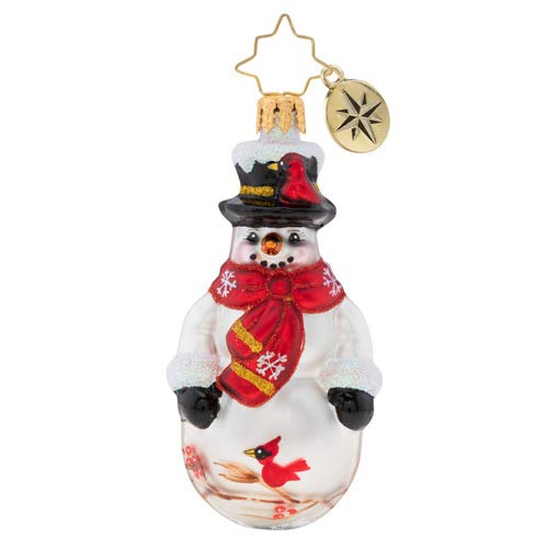 Christopher Radko Cardinal Keeper Gem Christmas Ornament, 3.500, ()