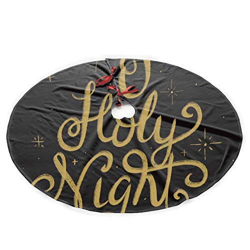 t Christmas Tree Skirt 35.5 Inch Xmas Holiday Tree Ornaments ()
