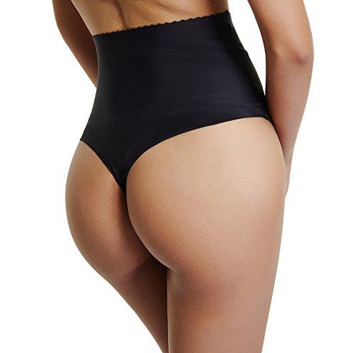 Line Girdle (Thong Shapewear for Women Waist Cincher Girdle Tummy Slimmer Sexy Thong Panty Shaper Seamless Underwear)