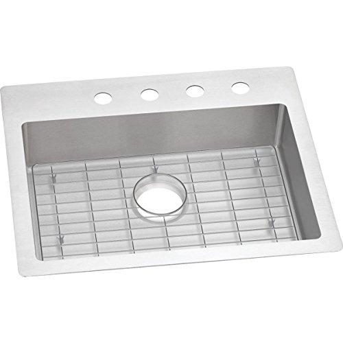 Elkay Crosstown ECTSRAD25226BGFR2 Single Bowl Dual Mount Stainless Steel ADA Sink ()