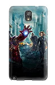 Defender Case For Galaxy Note 3, Avengers Vs Justice League Pattern