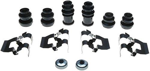 ACDelco 18K830X Professional Rear Disc Brake Caliper Hardware Kit with Clips, Seals, Bushings, and - Cap Rear Caliper