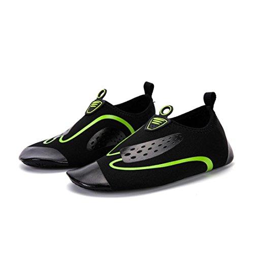 Scarpe Da Sport Acquatici, Inkach Unisex Quick-dry Water Shoes A Piedi Nudi Aqua Calze Da Donna Per Donna Uomo Swim Beach Beach Surf Scarpe Da Yoga Verde