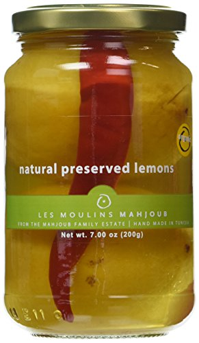 Les Moulins Mahjoub Natural Preserved Lemons - 200g