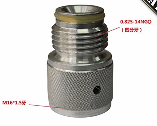 88g Co2 Cartridge (88G 3oz Airsource Co2 Cartridge Cylinder to Paintball Tank Thread Adapter)