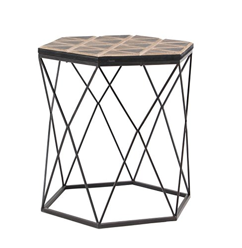 Deco 79 98748 Accent Table Brown/Gray by Deco 79 (Image #1)