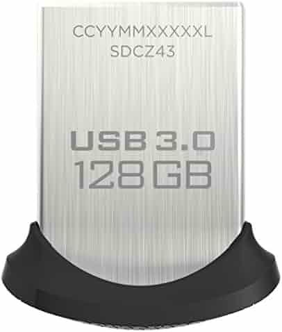 SanDisk Ultra Fit 128GB USB 3.0 Flash Drive - SDCZ43-128G-GAM46