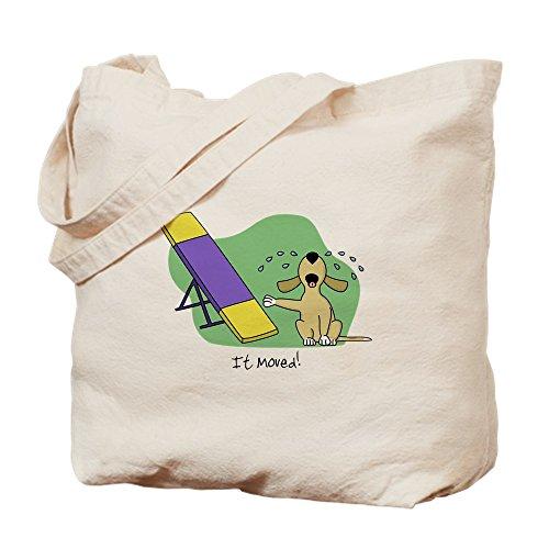 CafePress–Balancín agilidad perro–Gamuza de bolsa de lona bolsa, bolsa de la compra