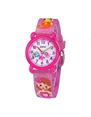CakCity Kids Watches 3D Cute Cartoon Waterproof Silicone Children Toddler Wrist Watch Time Teacher Birthday 3-10 Year Boys Girls Little Child