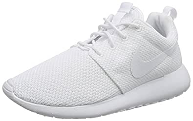3f5e5f111056 ... where to buy Nike Mens Rosherun WhiteWhite Running Shoe 7 Men US ...