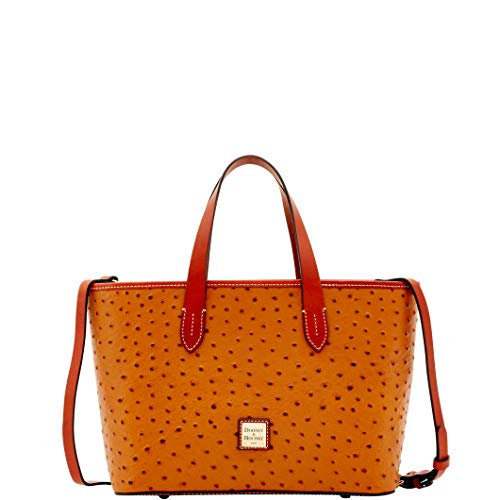Dooney & Bourke Ostrich Brandy Bag