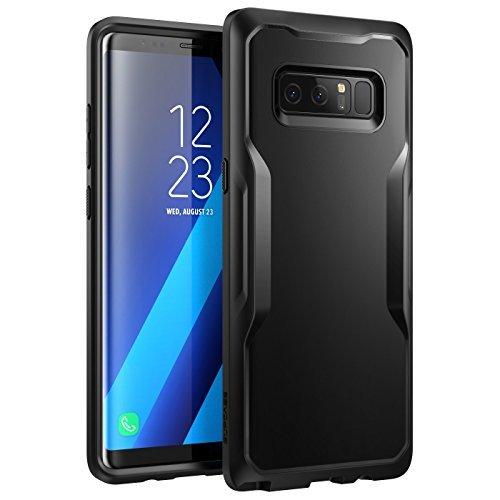 SUPCASE Samsung Galaxy Note 8 Case Unicorn Beetle Series Premium Hybrid Protective Clear Case 2017 Release (Black/Black)