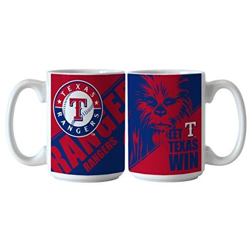 MLB Texas Rangers Star Wars Sublimated Coffee Mug, 15-ounce, 2-Pack - Texas Rangers Water Bottle