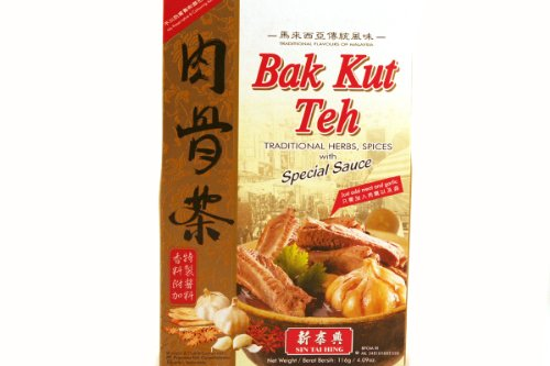 Bak Kut Teh - 3.95oz (Pack of 6) by Sin Tai Hing