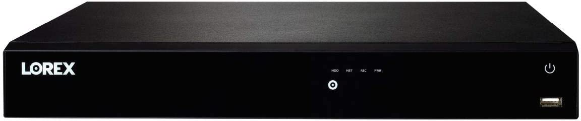 Lorex N861D63B 16 Channel 4K Ultra HD IP 3TB Network Video Recorder (NVR) with Smart Motion Detection and Voice Control, Black