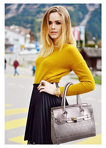 bandoulière à 5 Zipper élégant argent pour pièces Fourre Design 4 doré femme Sac tout 1rPwtP