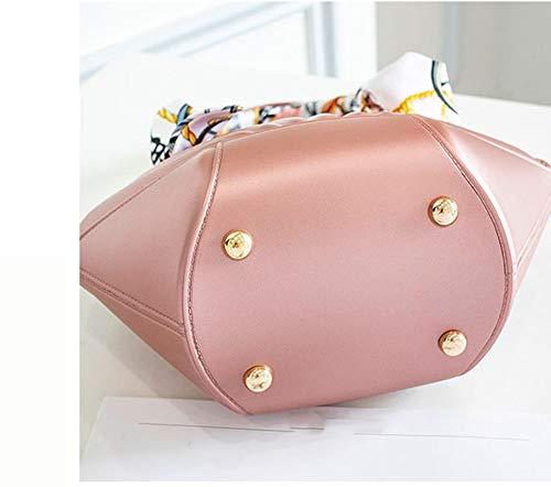 Lavoro Mini Tracolla PVC Di Per Borsa A KuanDar Viaggi Da Donna In Pink Borsa Adatta XBOWwqH