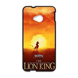 HTC One M7 Cell Phone Case Black Lion King 1 12 ISU312421