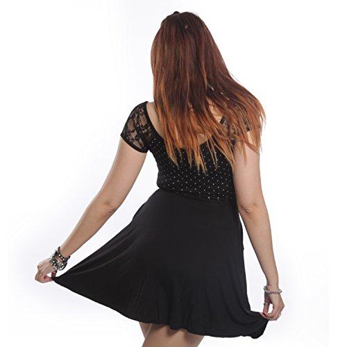 Vito robe Mesdames noir Alternative Emo Goth Punk Osiris Fashion Mesdames neuf scellé avec étiquettes